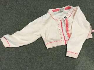 Miki baby pink short jacket