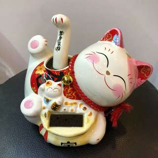 Solar Lucky Fortune Cat