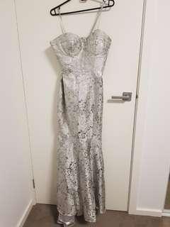 Formal mermaid style dress