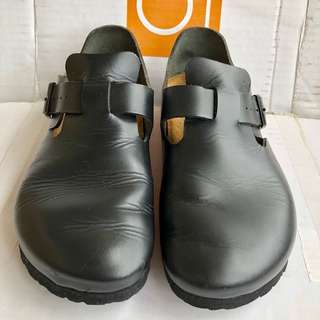 🚚 birkenstock勃肯 倫敦 全真皮 正品 附原廠鞋盒 二手 40號 窄版