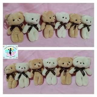 Baby Bear Stuffed Toys - Key Chains (30 Pieces) (as Giveaways for Kiddie Birthday Party or Baptismal Party)