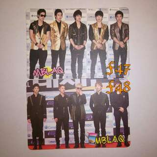 MBLAQ yescard