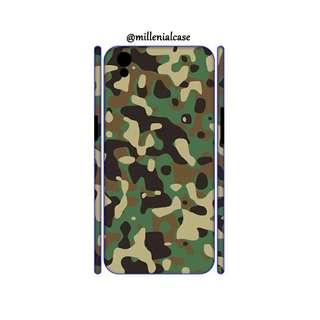 Premium custom case army loreng hardcase/softcase
