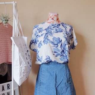 Floral Cotton Blouse
