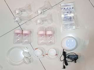 [Used] Spectra M1 breast pump + accessories (new & used)