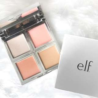 🚚 elf Beautifully Bare Natural Glow Face Palette