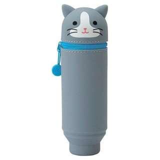 🚚 日本Loft購入 | 可愛動物造型文具筆筒直立式筆筒 | 貓咪造型
