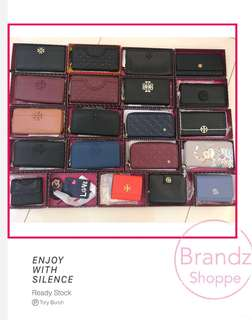 🔥🔥🔥HOT DEAL! 💯% Authentic Tory Burch Women Long Wallet / Ladies Purse Series @ ALL Ready Stock! MUST HAVE 👍👍👍
