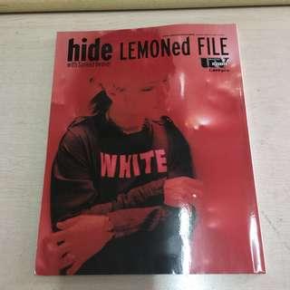 X japan hide lemoned file