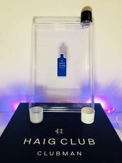 Haig Club whiskey water bottle (A5Size)