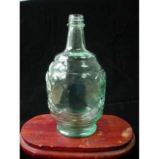 老舊玻璃酒瓶