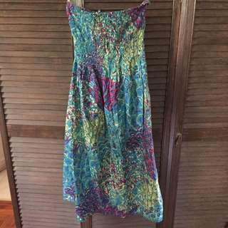 Stretchy beach tube dress