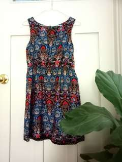 New Look patterned dress