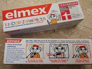 elmex kids toothpaste