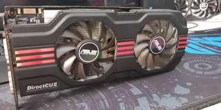 ASUS gtx 560ti direct cu ii OC ,1gb gddr5