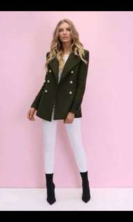 Madison Square Clothing Buckingham Military Jacket