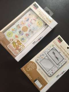 Nintendo 3DS LL cover + sticker