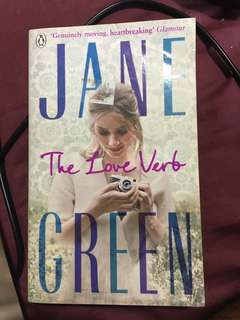 Jane Green's The Love Verb Novel
