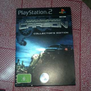 Ps2 need for speed collector edition