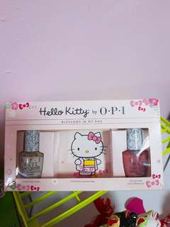 Hello Kitty OPI Nail Polish Set