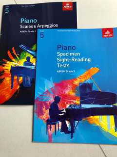 Piano Grade 5 Exam Materials
