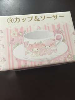 My melody cup and saucer