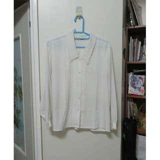 白襯衫 古著 二手 碳矽鍺錫鉛