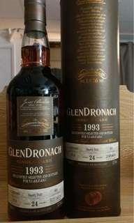 GlenDronach 1993 24yo - 醉之選x虎之選x豆花