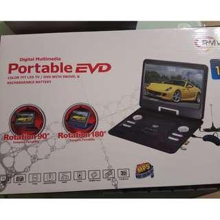 Portable EVD 手提電視及DVD播影機