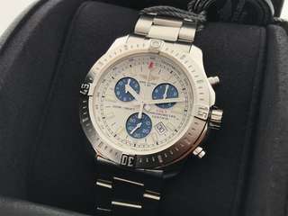 ORIGINAL LNIB BREITLING COLT CHRONOGRAPH QUARTZ 44MM