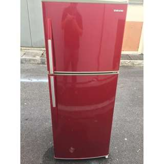 Red Samsung 2D Fridge Ice Peti Ais