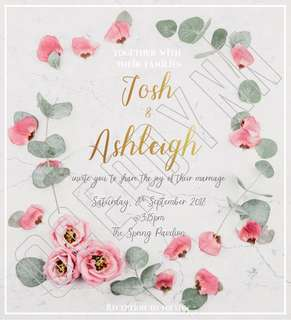 Invitation Card Customisation - 22