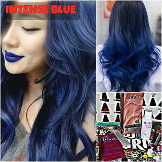 Intense Blue Hair Dye / Colour (SALE)