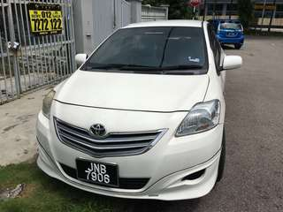 Toyota Vios j manual