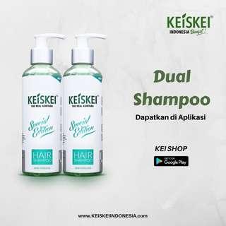 Shampoo Penumbuh Rambut dan Anti Ketombe