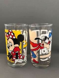 Disney and Kodak glass