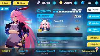 Honkai Impact 3 Account