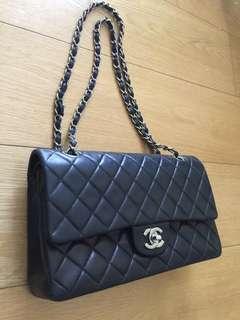 Classic 2.55羊皮銀鍊Chanel 手袋(保証真品)