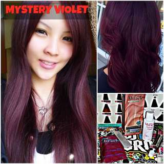 Mystery Violet Hair Dye / Colour (SALE)