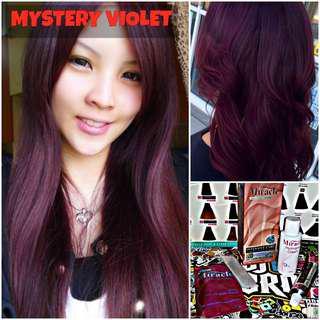 Mystery Violet Hair Dye / Colour (SALE)