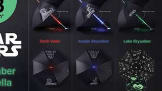 Star Wars Collectables: Light Saber Umbrella