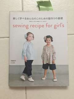 Sewing recipe for girl's clothing
