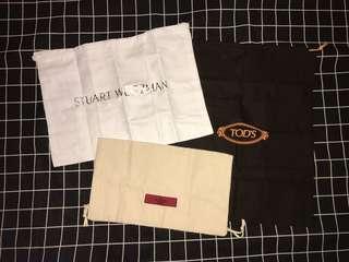 全新 名牌 鞋袋 收納袋 旅行 Tod's Valentino Stuart weitzman