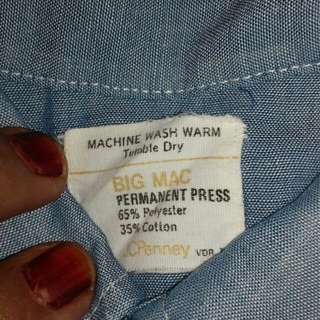 Big Mac chambray