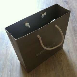 (半價) JAEGER-LECOULTRE Paper Shopping Gift Bag 紙袋 禮物袋 (Half Price)