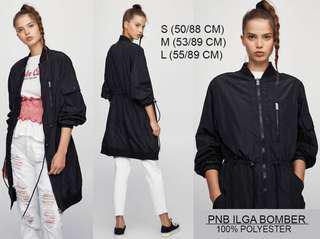 Long bomber jacket Pull n Bear