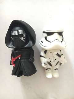 Star Wars - trooper and Ken