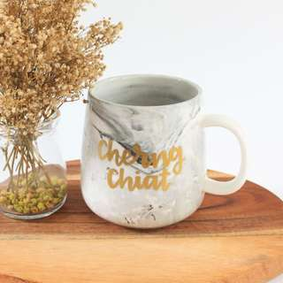 Customized coffee mug - big belly