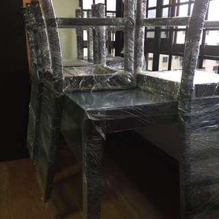 Dining table and chairs (4) $150
