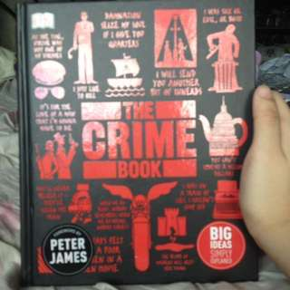 The Crime Book   Hardbound